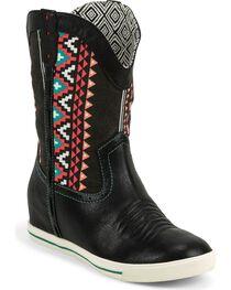 Justin Women's Aztec Gypsy Dust Boots, Black, hi-res