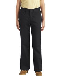 Dickies Junior Girl's Stretch Bootcut Pants - Plus, , hi-res