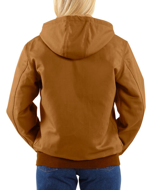 Carhartt Women's Active Flame-Resistant Work Jacket, Brown, hi-res