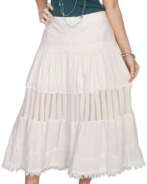 Scully Women's Crochet Skirt, Natural, hi-res