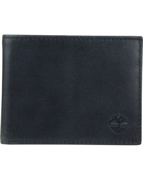 Timberland Men's Cloudy Leather Contrast Billfold Wallet , , hi-res