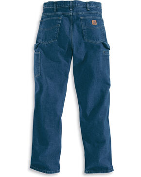 Carhartt Men's Relaxed-Fit Carpenter Jean, Blue, hi-res