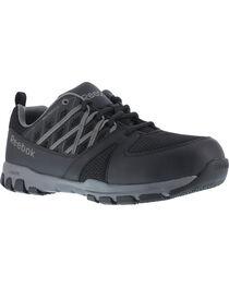 Reebok Men's Athletic Oxford Sublite Work Shoes - Soft Toe , , hi-res