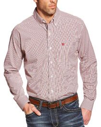 Ariat Men's Thompson Pro Series Long Sleeve Shirt, , hi-res