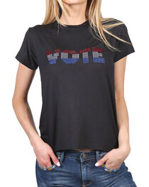 Luna Chix Women's Bling Vote Graphic Tee, , hi-res