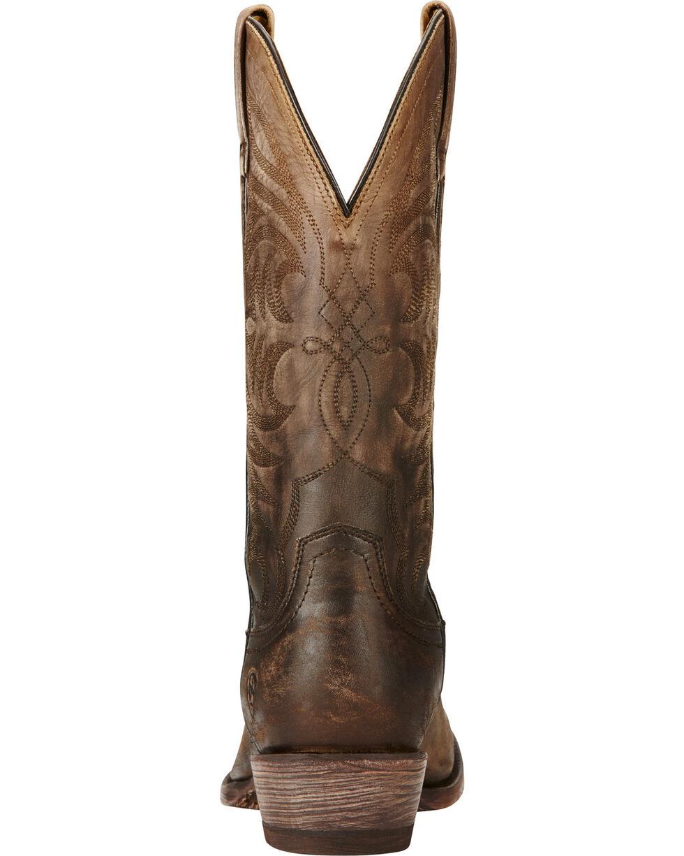 Ariat Men's Breakthrough Western Boots, Chocolate, hi-res