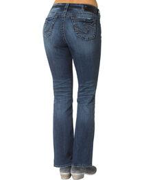 "Silver Women's Suki Slim Bootcut Jeans - 33"" Inseam, , hi-res"