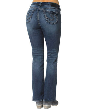 "Silver Women's Suki Slim Bootcut Jeans - 33"" Inseam, Denim, hi-res"