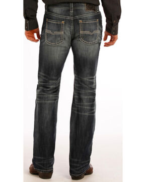 Rock and Roll Cowboy Pistol Flex Jeans - Straight Leg , Indigo, hi-res