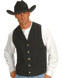 Rangewear by Scully Frontier Canvas Vest, , hi-res
