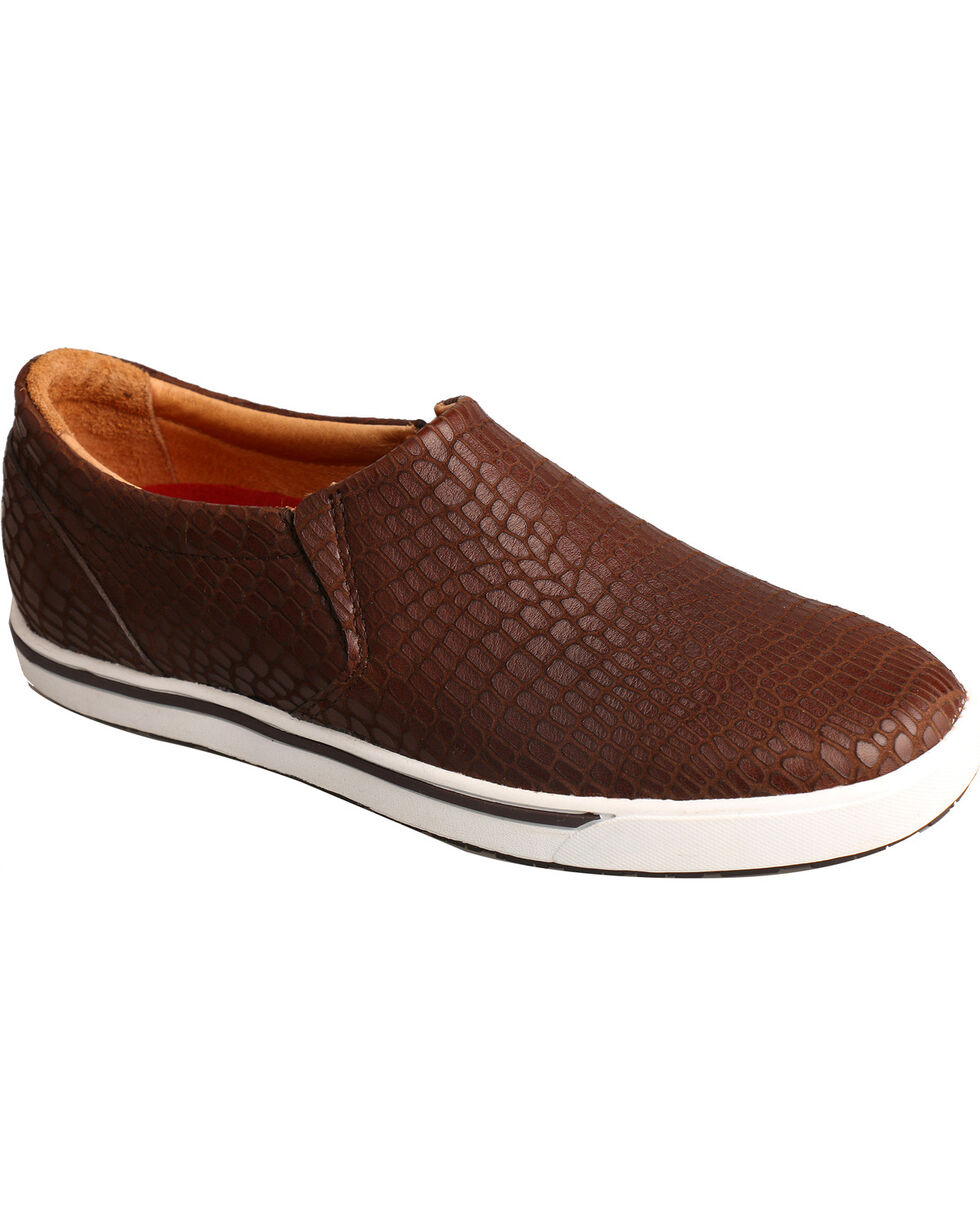 Twisted X Women's Print Casual Slip-On Shoes, Brown, hi-res