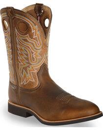 Twisted X Men's Joe Beaver Calf Roper Western Boots, , hi-res