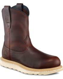 Red Wing Irish Setter Ashby Wedge Pull-On Work Boots - Round Toe, , hi-res