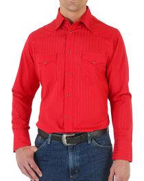 Wrangler Men's Sport Western Long Sleeve Shirt, , hi-res