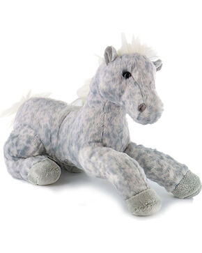 Aurora Flopsies Dusty Horse Plush Toy, Grey, hi-res