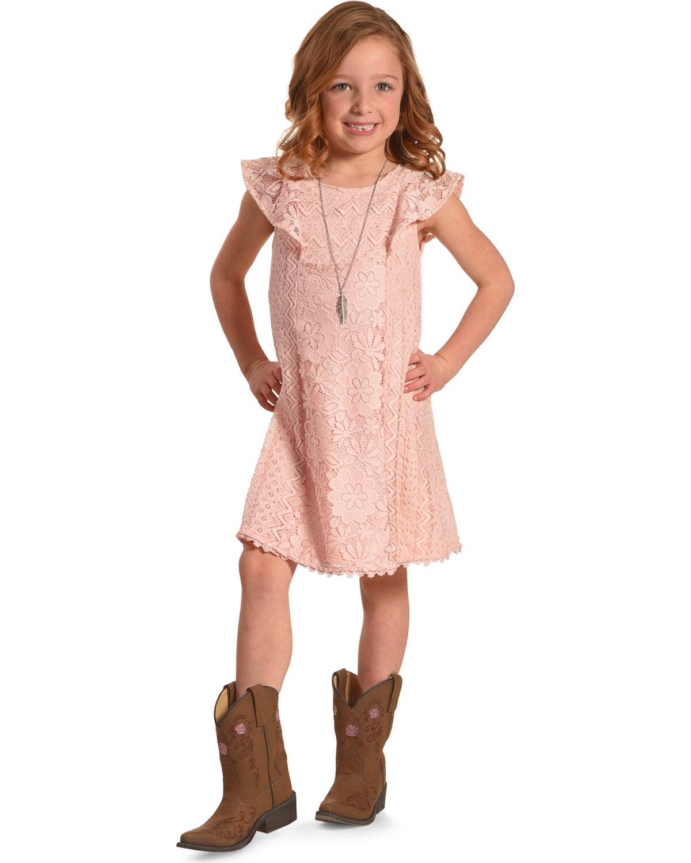 Girls Boots Dress
