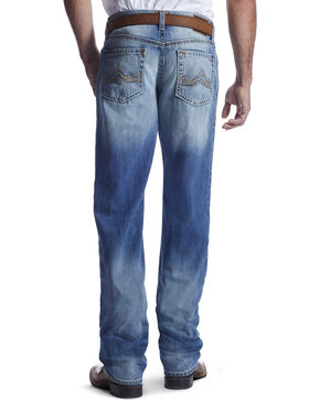 Ariat Men's Indigo M2 Troy Ashwood Denim Jeans - Boot Cut, Indigo, hi-res