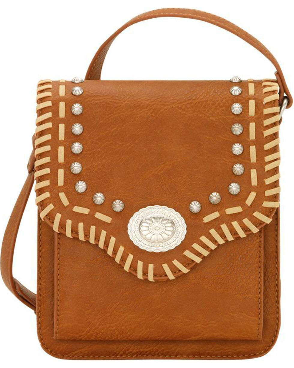 Bandana by American West Los Alamos Crossbody Wallet Flap Bag, , hi-res