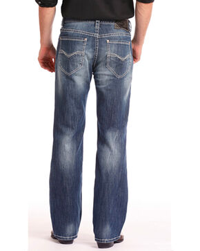 Rock & Roll Cowboy Men's Cannon Reflex Jeans - Straight Leg , Indigo, hi-res