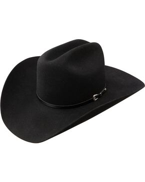 Resistol George Strait Sonora 4X Fur Felt Cowboy Hat, Black, hi-res