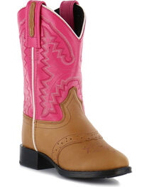 Cody James® Kid's Saddle Vamp Western Boots, , hi-res