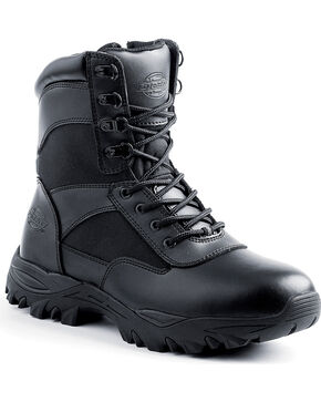 "Dickies Men's 8"" Spear Boots, Black, hi-res"