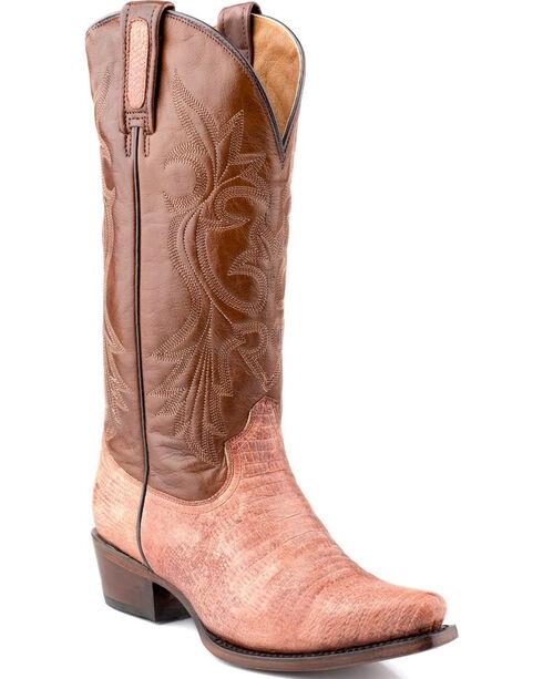 Roper Women's Teju Lizard Print Western Boots, , hi-res