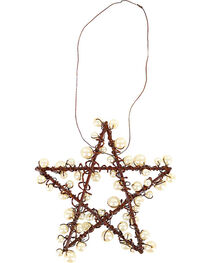 BB Ranch Metal Wire & Pearl Star Ornament, , hi-res