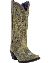 Laredo Women's Cross Wing Fashion Boots, , hi-res