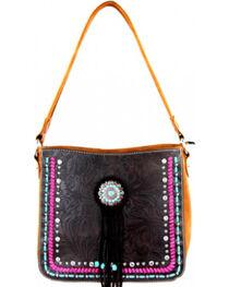 Montana West Concho Collection Hobo Bag, , hi-res