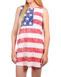 Moa Moa Women's American Flag Dress, , hi-res