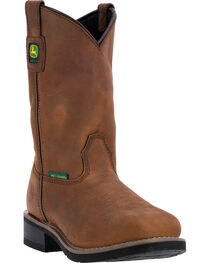 "John Deere Women's 10"" Utility Met Guard Boots - Steel Toe , , hi-res"