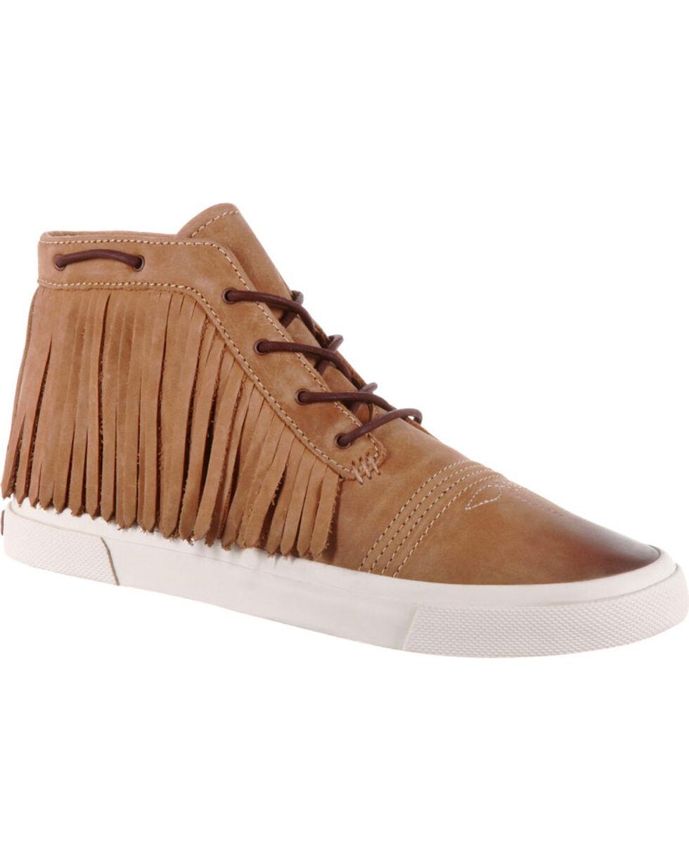 Durango Women's Music City Fringe Lacer Sneakers, Brown, hi-res
