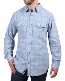 Moonshine Spirit® Men's El Cortez Plaid Long Sleeve Shirt, , hi-res