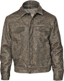 STS Ranchwear Men's Maverick Rustic Leather Jacket, , hi-res