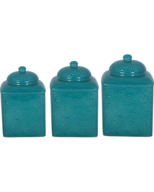 HiEnd Accents Savannah 3-Piece Canister Set, , hi-res