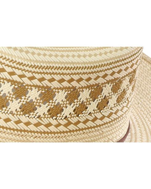 Resistol Men's Tenino Promo Straw Hat , Chocolate, hi-res