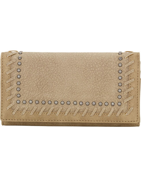 Bandana by American West Women's Guns and Roses Wallet, , hi-res
