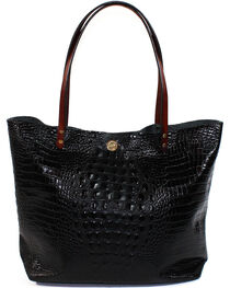 SouthLife Supply Women's Black Croc Square Tote, , hi-res