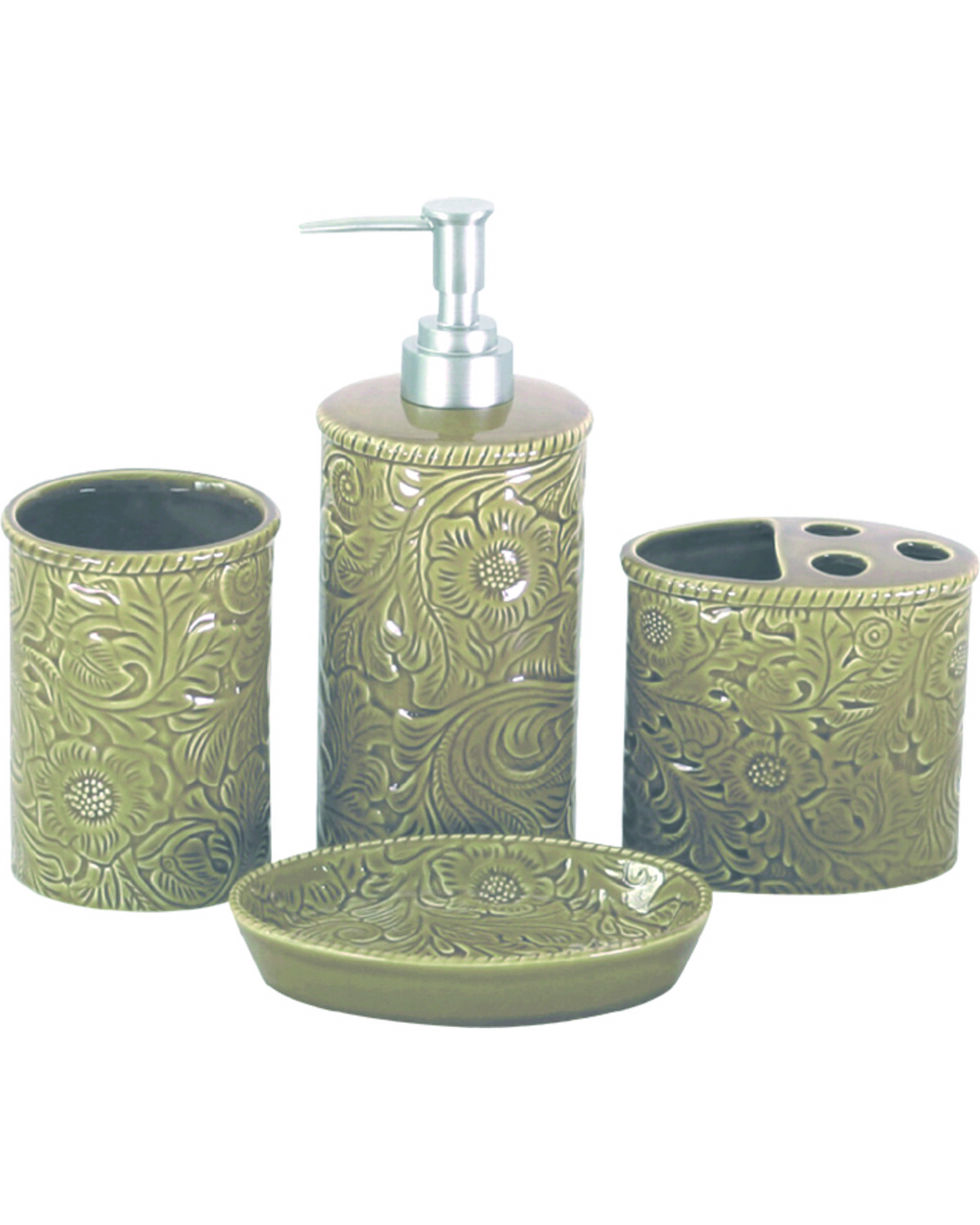 HiEnd Accent Four-Piece Savannah Bathroom Set, , hi-res