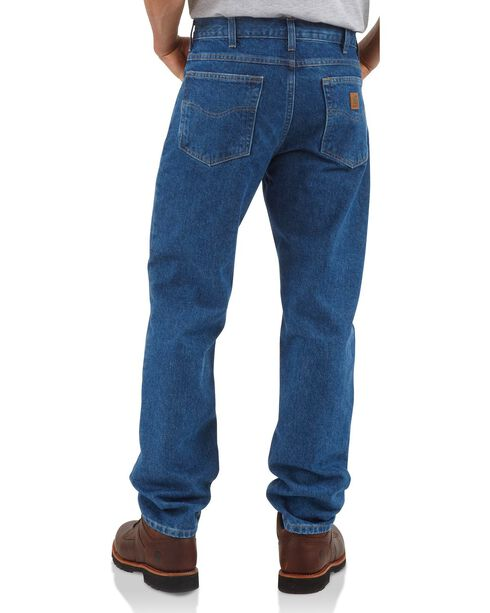 Carhartt Men's Traditional Fit Jeans, Dark Stone, hi-res