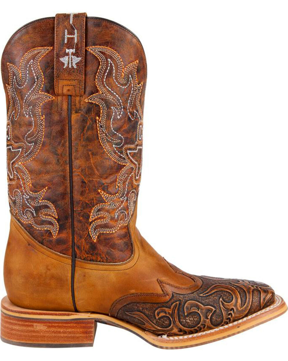 Tin Haul Men's Smokin' Hot Western Boots, Brown, hi-res