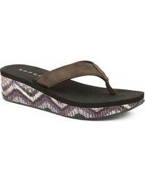 Roper Women's Wave Wedge Sandals, , hi-res