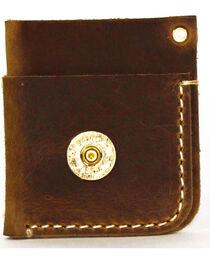SouthLife Supply Men's Mason Aged Bourbon Front Pocket Card Holder, , hi-res