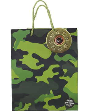BB Ranch® Small Camo Gift Bag, Camouflage, hi-res