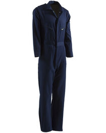 Berne Navy Deluxe Unlined Coveralls, , hi-res