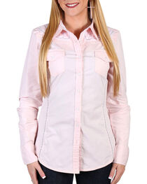 Grace In LA Women's Embroidered Western Shirt , , hi-res