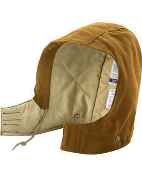 Carhartt Men's Flame Resistant Midweight Canvas Hood, Brown, hi-res