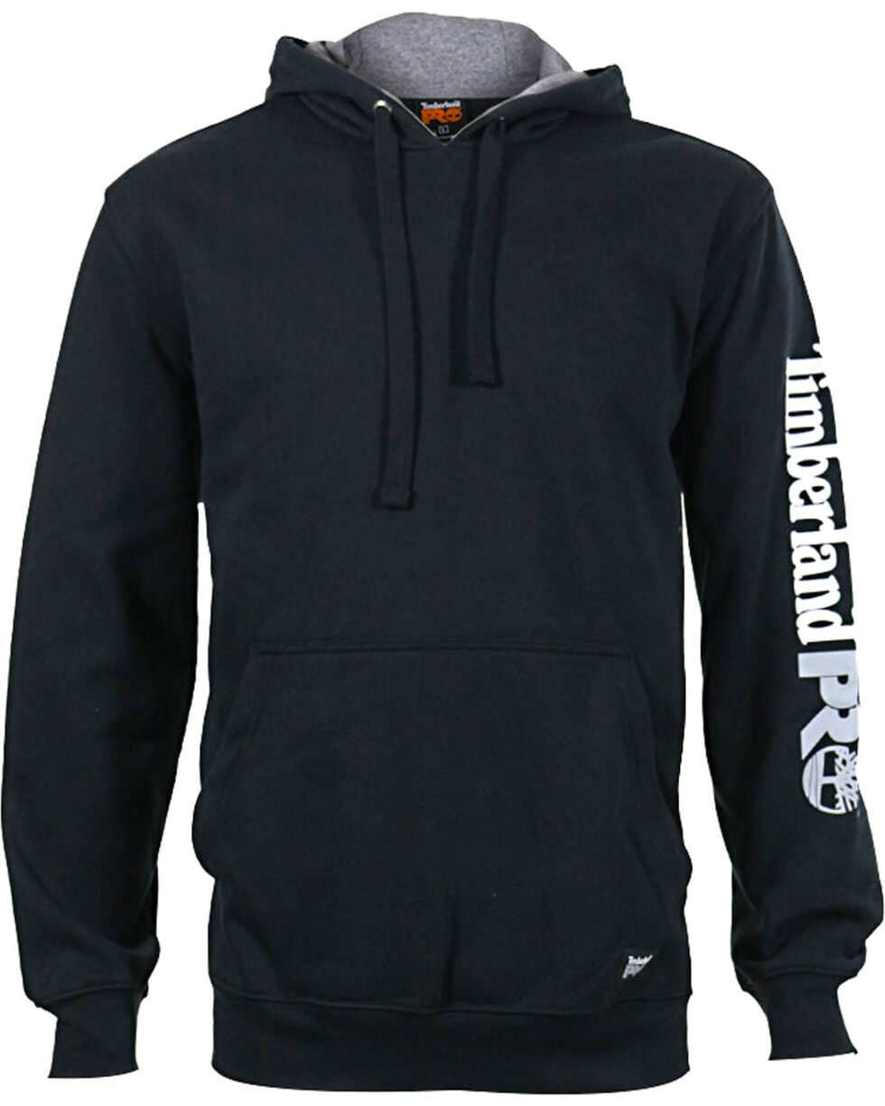 Timberland Pro Men's Hooded Sweatshirt, Black, hi-res