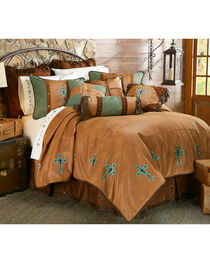 HiEnd Accents Las Cruces II Comforter Set - King Size, , hi-res
